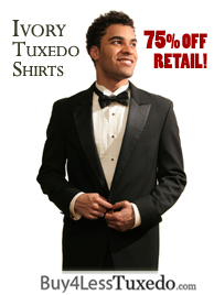 Buy Ivory Tuxedo Shirts