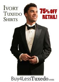 Buy Ivory Tuxedo Shirts